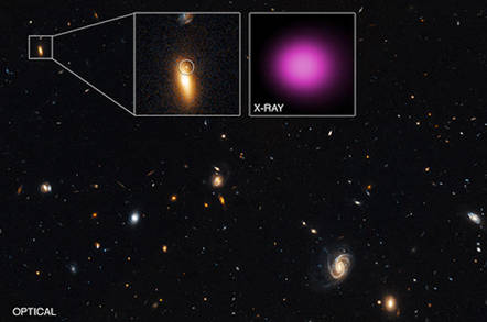 Chandra's wandering black hole