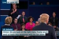 Second US presidential debate 2016