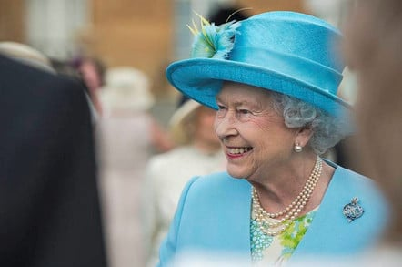 Her Majesty the Queen. Crown copyright/MoD