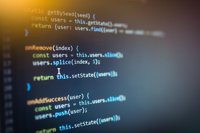 Javascript photo via Shutterstock