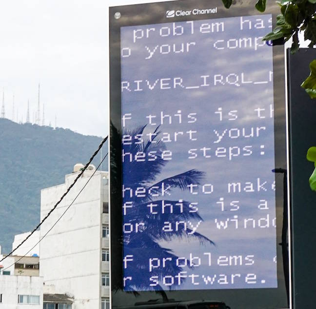 BSOD in Rio