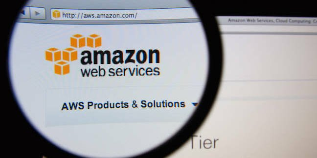 "Amazon Web Services <a href=""http://www.shutterstock.com/gallery-762415p1.html?cr=00&pl=edit-00"">Gil C</a> / <a href=""http://www.shutterstock.com/editorial?cr=00&pl=edit-00"">Shutterstock.com</a>"