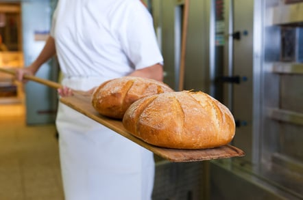 Baked bread photo via Shutterstock