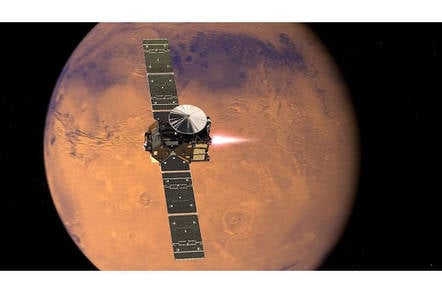 ExoMars TGO orbit insertion image (ESA)