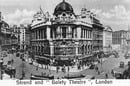 old postcard depicting London's STrand. source url https://www.flickr.com/photos/govert1970/4359657301 licensed under https://creativecommons.org/licenses/by/2.0/