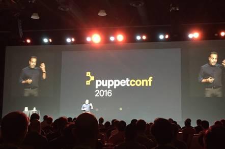 Sanjay Mirchandani at PuppetConf 2016