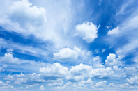 Clouds, photo via Shutterstock