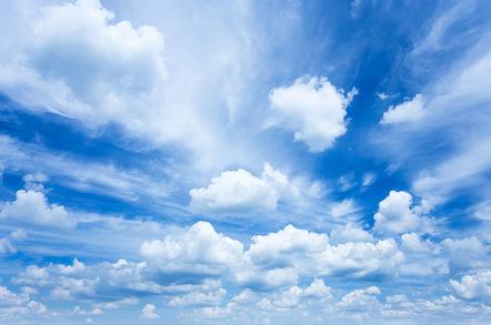 Clouds, photo via Shutterstock