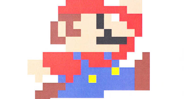 "UBON RATCHATHANI, THAILAND - JANUARY 25, 2015: Mario pixel art printed on poster <a href=""http://www.shutterstock.com/gallery-797371p1.html?cr=00&pl=edit-00"">tulpahn</a> / <a href=""http://www.shutterstock.com/editorial?cr=00&pl=edit-00"">Shutterstock.com</a>"