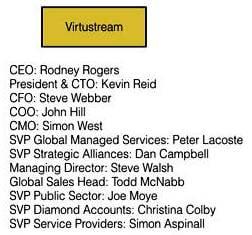 Virtustream organisation