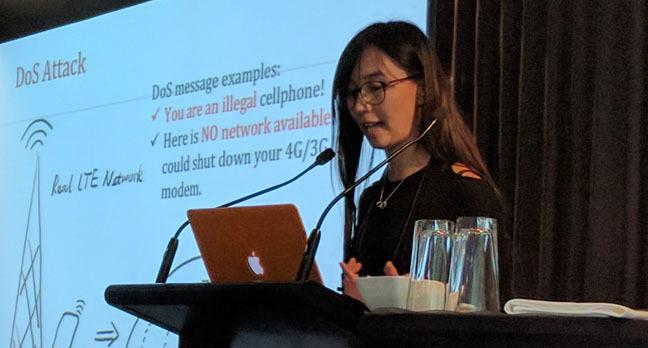 Wanqiao Zhang. Image: Darren Pauli, The Register.