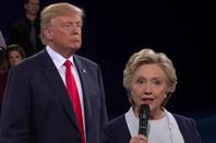 Hillary Clinton faces off with Donald Trump at the NBC debates