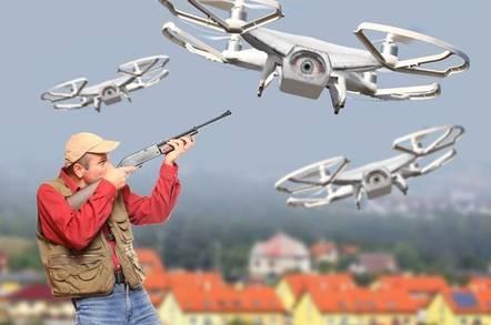 Drone shooting