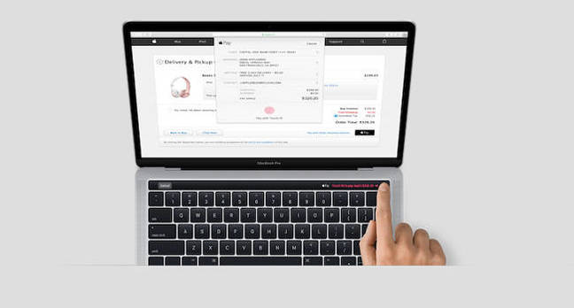 Shot of a new Macbook Pro
