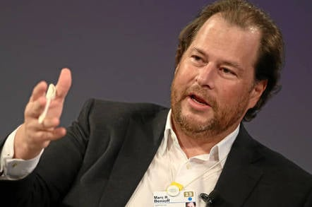 Salesforce CEO: We're doing great because everyone else in ...