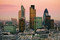 London financial centre gherkin etc. photo by shutterstock