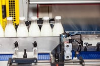 milk production line. Photo by SHutterstock