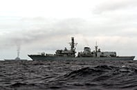 Royal Navy frigate HMS Richmond, Type 23. Crown copyright