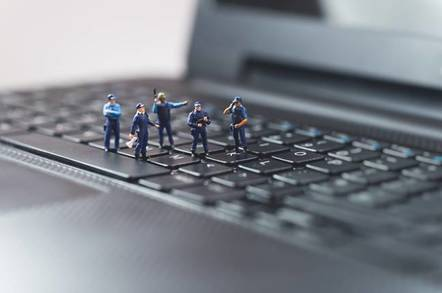 police hacking