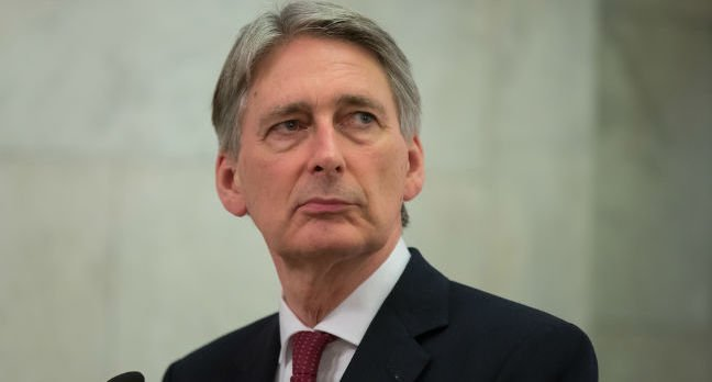 Philip Hammond photo by Inna Sokolovska via Shutterstock