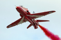 A Red Arrow, BAE Systems Hawk T Mk.1. Pic: Shutterstock