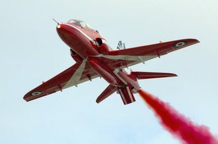 A Red Arrow, BAE Systems Hawk T Mk.1. Pic: Shutterstock