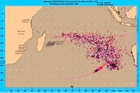 MH 370 drift pattern analysis
