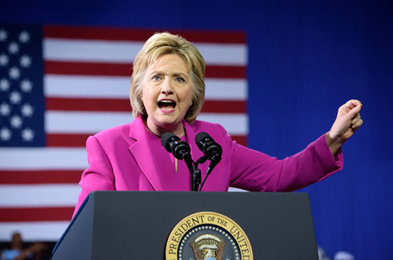Hillary Clinton, photo by Evan El-Amin via Shutterstock