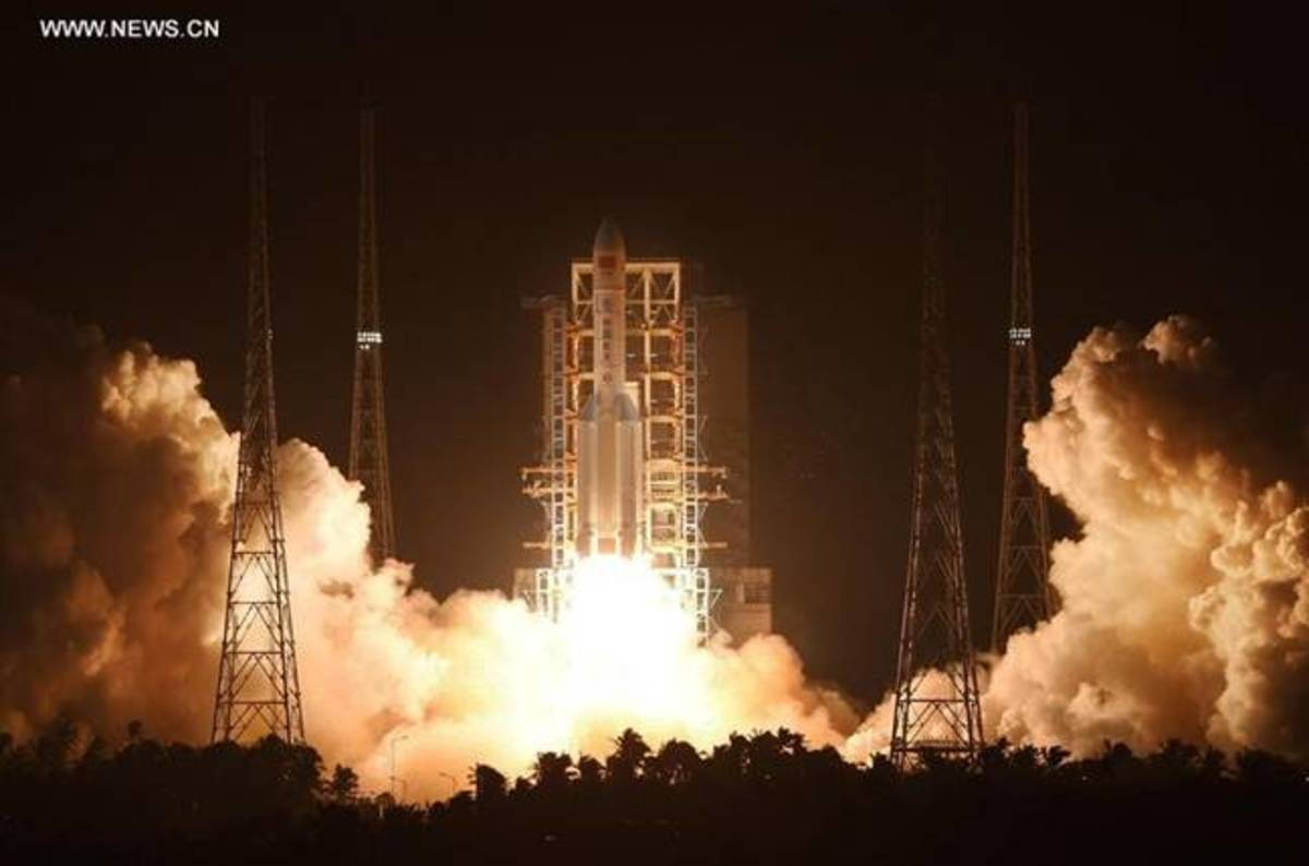 photo image If you guessed China's heavy lifter failed due to a liquid hydrogen turbo engine fault, well done!