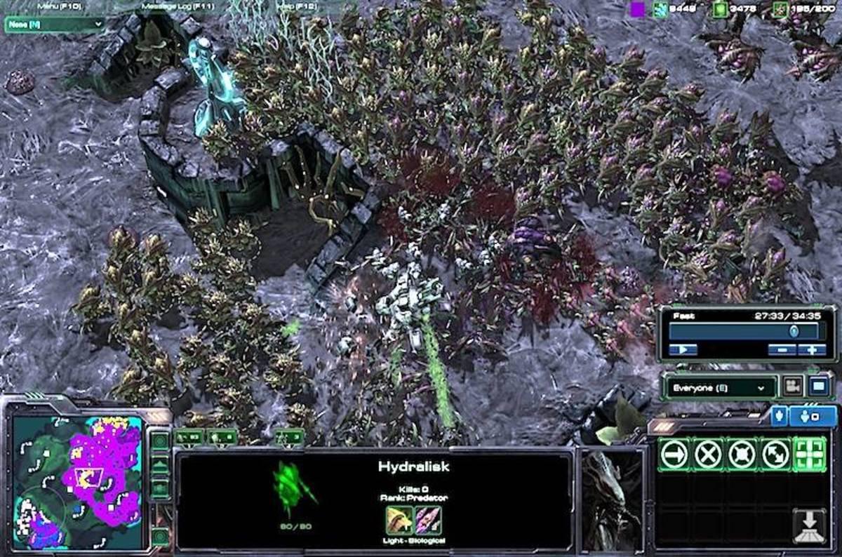 Zerg rush - Zerg Rush Now Google Deepmind Blizzard Train Ais With Starcraft Battles The Register