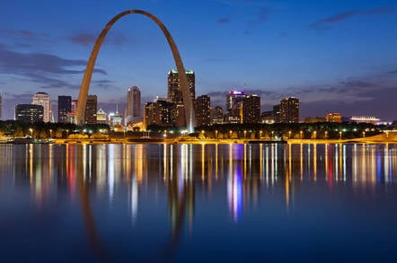 The city of St Louis