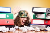 Office war photo via Shutterstock