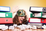 Office war photo via Shutterstock