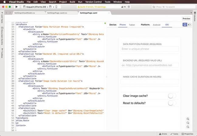 Microsoft Visual Studio for Mac image