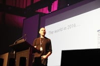 Google  security engineer Darren Bilby. Image: Darren Pauli, The Register.