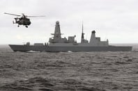 HMS Duncan, Type 45 destroyer. Crown copyright