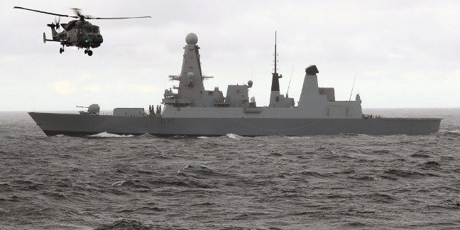 HMS Duncan, Type 45 destroyer. Crown copyright