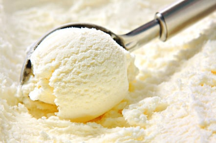 Ice cream, photo via Shutterstock
