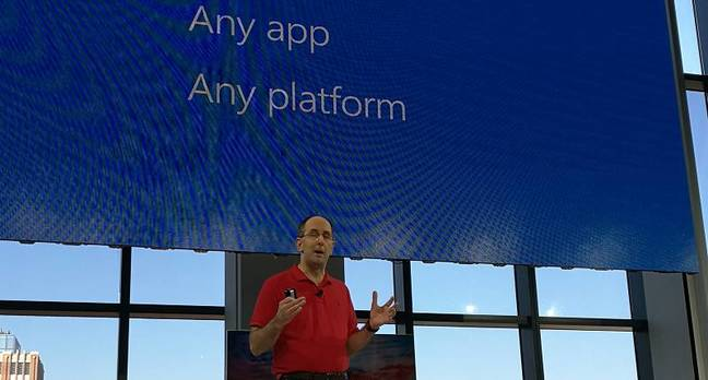Microsoft's Scott Guthrie addresses Connect: any developer, any app, any platform