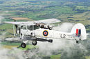 Fairey Swordfish Mk.2 LS326 of the Royal Navy Historic Flight. Crown copyright