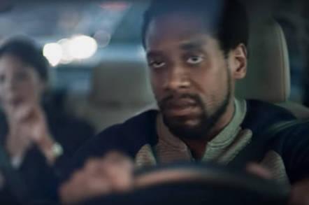 An unhappy driver