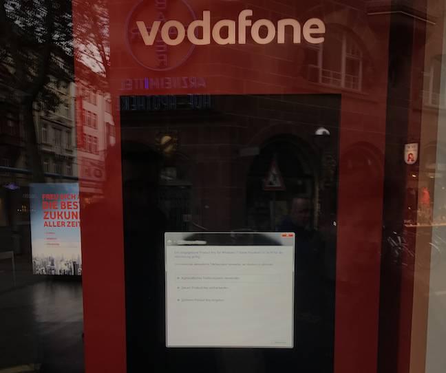 Vodafone BSOD