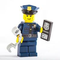 Lego police tries to cuff someone