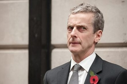 Peter Capaldi in bbc2 political satire The Thick of It. Copyright BBC