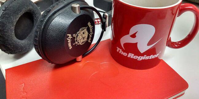 headphones at the Reg