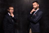 Insurance guys photo via Shutterstock
