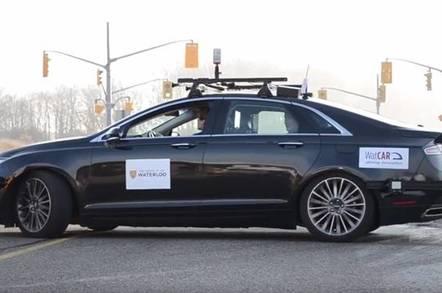 robot car canada