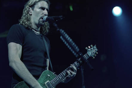 Chad Kroeger of rock band Nickelback