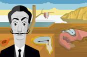 Salvador Dali Persistence of Memory pastiche
