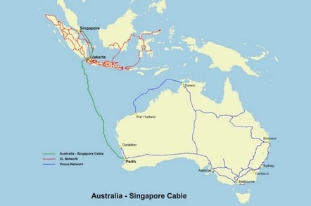 Vocus Australia Singapore Cable
